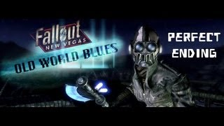 Fallout New Vegas: Old World Blues - Perfect Complete Ending