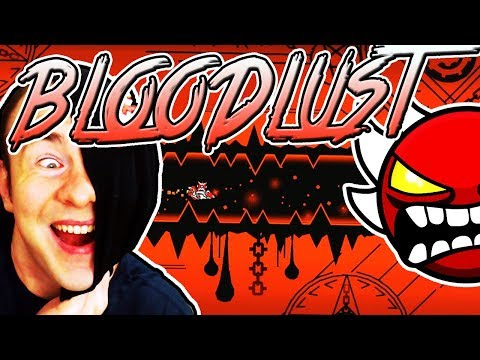 Geometry Dash BLOODLUST PRACTICE MODE // Tips And Tricks From EVW