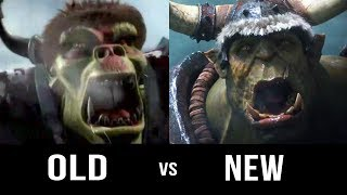 WARCRAFT 3: Old vs New Trailer [2002 - 2018] Blizzcon 2018