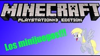 Minecraft PS3 Edition, Probando minijuego, Los juegos del hambre.