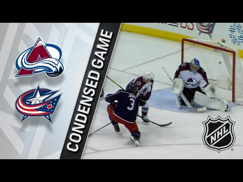 03/08/18 Condensed Game: Avalanche @ Blue Jackets