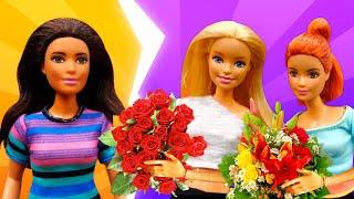 Фото Видео для детей. Куклы Барби приготовили подарок на день учителя