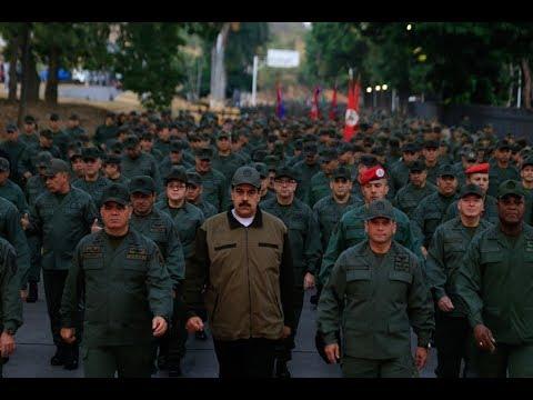 Maduro marcha con tropas en Fuerte Tiuna, primera cadena este 2 mayo 2019