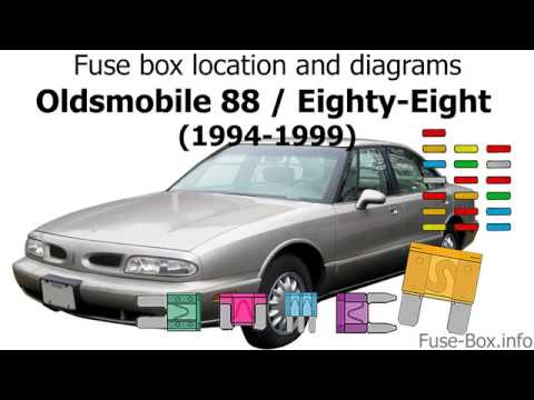 Fuse box location and diagrams: Oldsmobile 88 / Eighty-Eight (1994-1999) -  YouTube