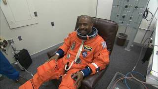 STS-129 Launch Countdown Coverage Suitup and Walkout
