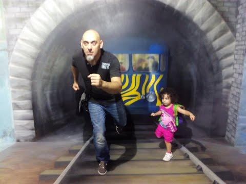 Visita al museo de las ilusiones en Barcelona
