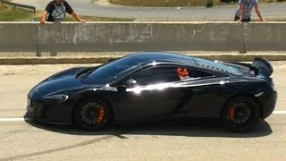 Hillclimb McLaren 650s Maximum Attack 2016 - Show and Drift - Hillclimb Ranca 2016