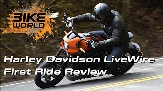 Harley Davidson LiveWire First Ride Review