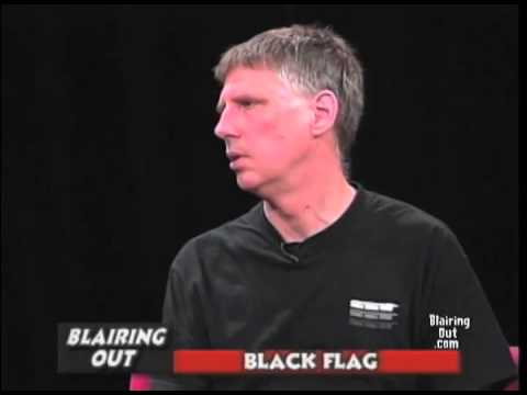 BLACK FLAG's Greg Ginn talks w Eric Blair 2003