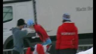 Norwegian ski jumpers training in Zakopane! :-) (2009)