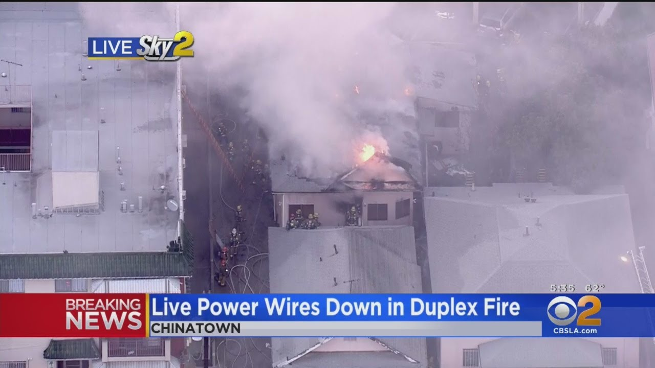 Crews Battle Two-Story Structure Fire In Chinatown