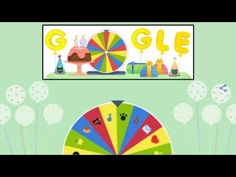 | Google Birthday Surprise Spinner |