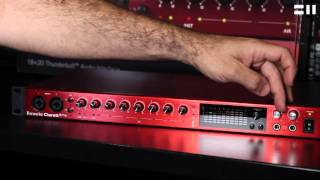 Interfaces de audio Thunderbolt Focusrite Clarett 8 Pre y Clarett 8 Pre X ya disponibles