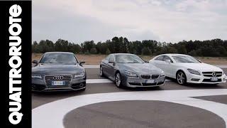 Lusso: BMW vs Mercedes vs Audi