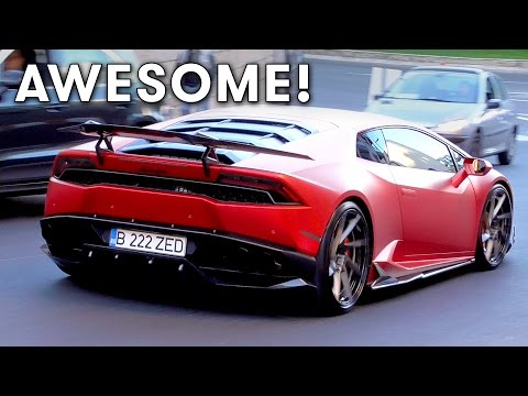 Monaco Madness Supercars during Top Marques 2017 Part 1