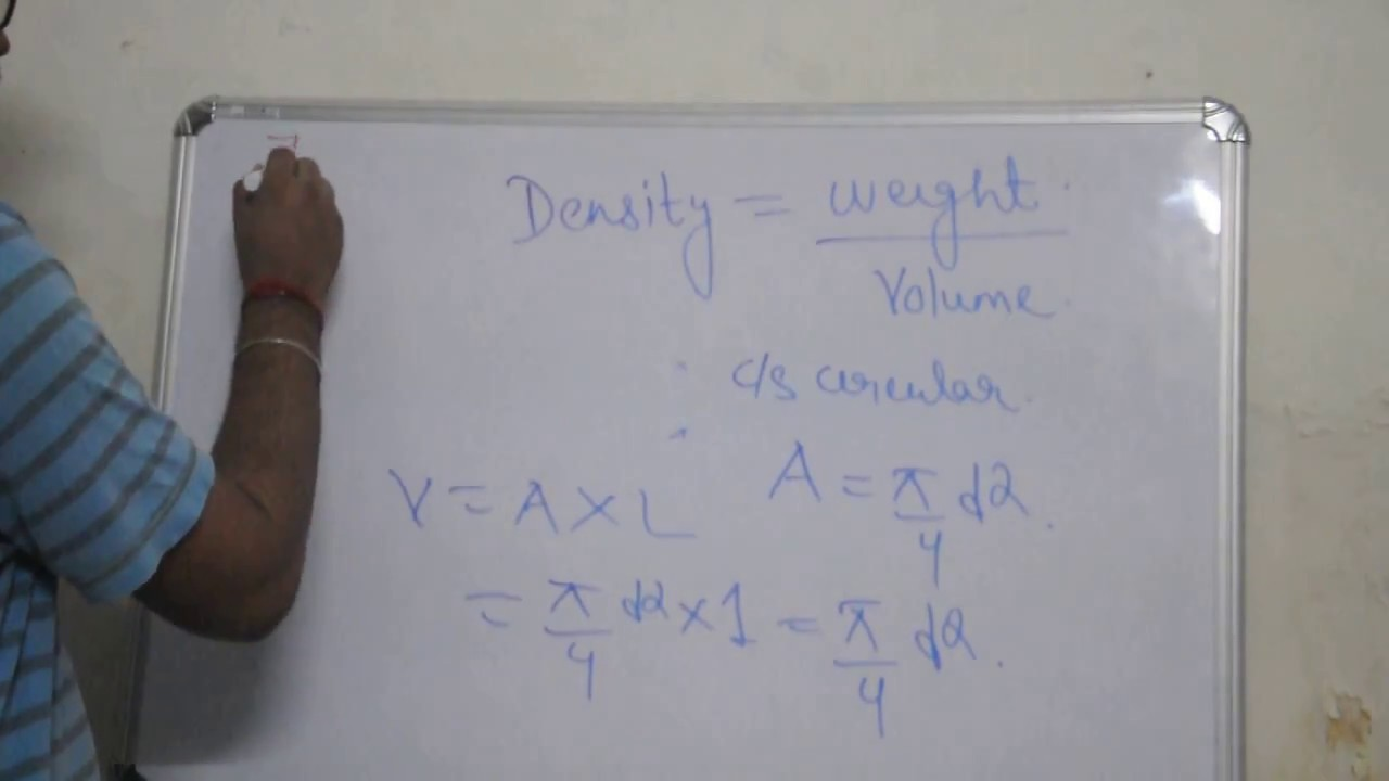 How to get weight of steel in kg square of d162 derivation how to get weight of steel in kg square of d162 derivation nvjuhfo Images