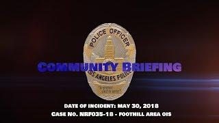 Critical Incident Video Release NRF035-18