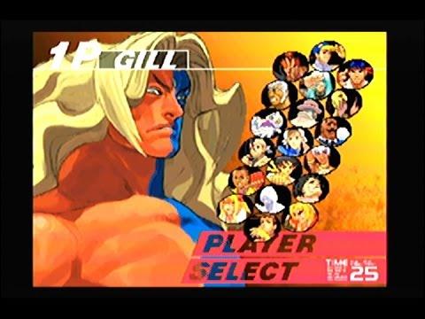 Street Fighter 3: 3rd Strike Gill Arcade Mode