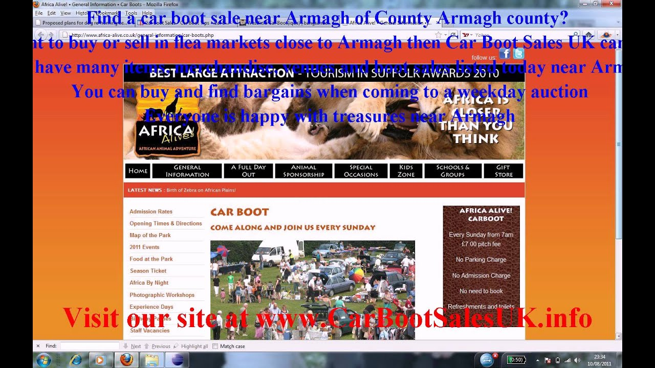 Armagh car boot sales fleamarket sites county armagh