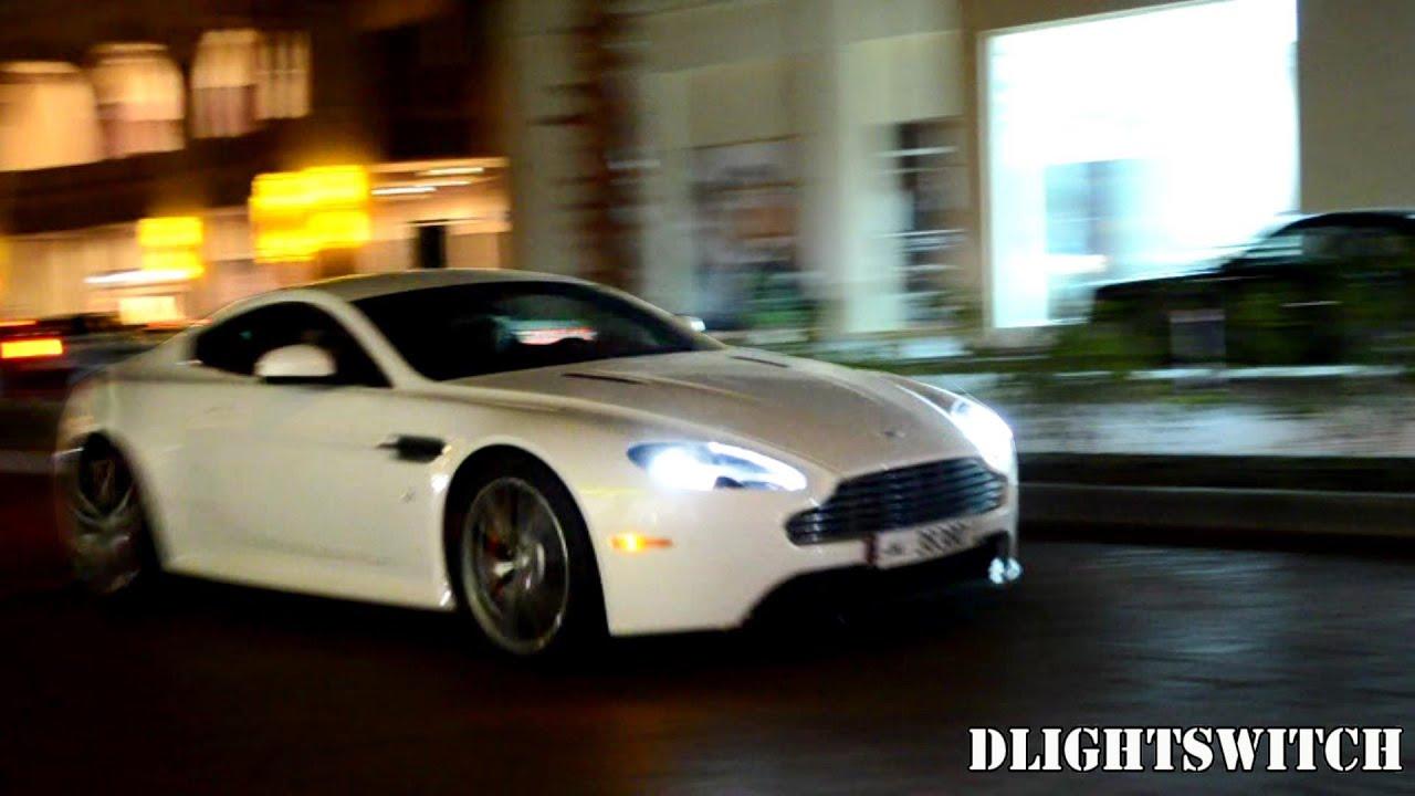 Aston Martin V8 Vantage S In Qatar Youtube