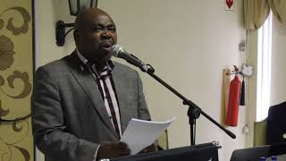 Minister for Employment and Labour, Thulas Nxesi delivers keynote address