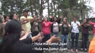 Hola me llamo Juan Dinámica