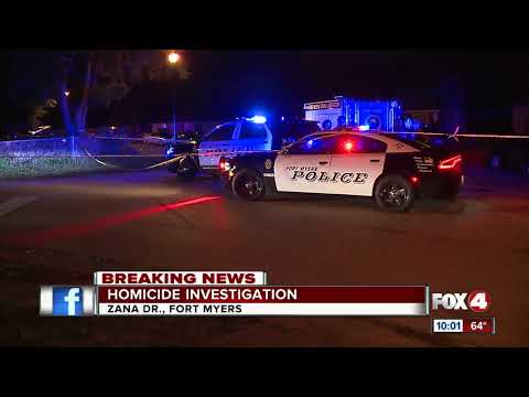 Fort Myers Police investigating homicide