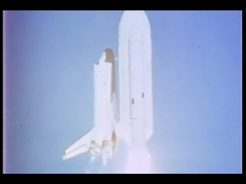 Space Shuttle Columbia, Historic First Flight  4/12/1981