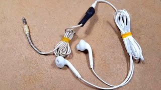 Make Headphone Extension Cable from old Headphone