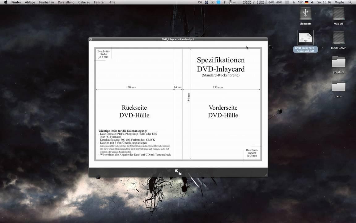 Adobe Photoshop CS4 Tutorial   Ein DVD Cover Erstellen