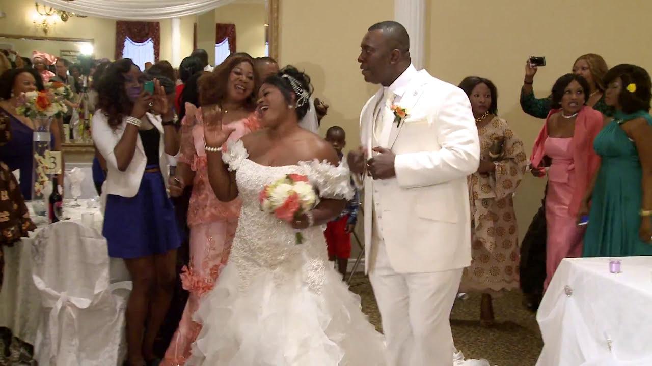 A Grand Entrance Of African Nigerian Newlyweds Toronto Wedding Videographer Photographer Gta
