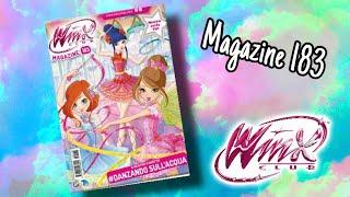 Winx Club - Magazine 183 (New artworks of season 8)