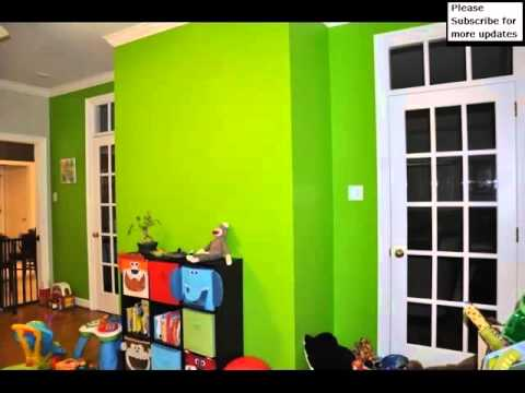 green color decoration pics of room decration ideas - Green House Decoration