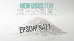 4 New Ways to Use Epsom Salt