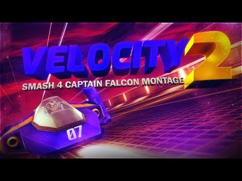【SSB4】Velocity 2 // FH Crunch Captain Falcon Montage