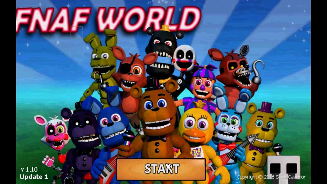 Video - Five Nights at Freddy's World Hack(Money, Level