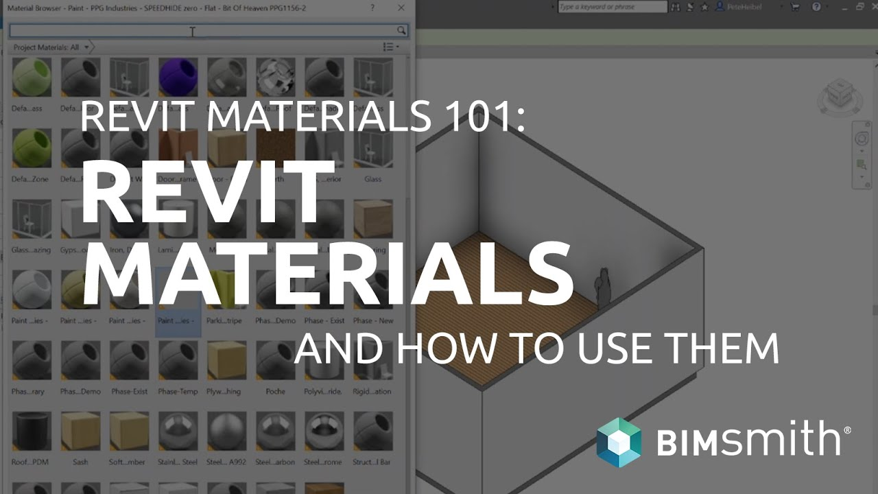 Revit Materials 101 - How to Download and Use  ADSKLIB Revit Material  Libraries in Your Projects