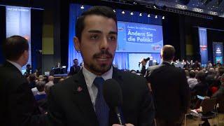 Umfrage beim AfD-Parteitag: Ist die Partei rechts?