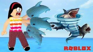 PREPARE-SE PARA O SHARKNADO!! - ROBLOX (TORNADO ALLEY ROBLOX)