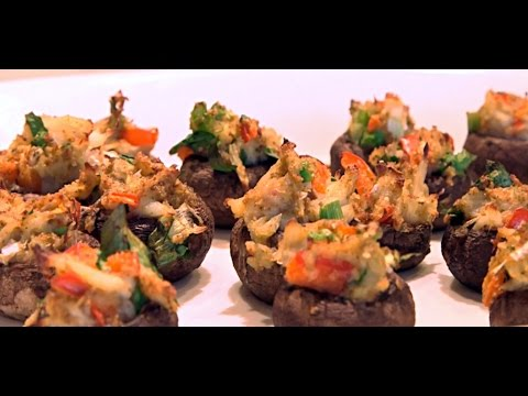 Crab Stuffed Portobello Mushrooms | Recipe