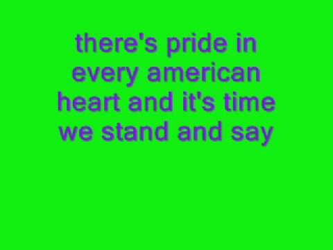 god bless the U.S.A lyrics