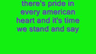god bless the usa lyrics