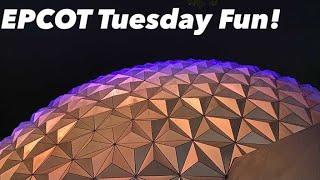 LIVE: Tuesday Fun at EPCOT! || Disney World Live Stream