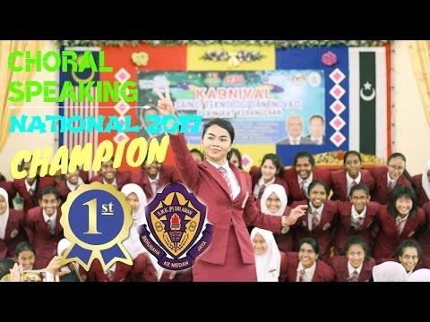 Choral Speaking Nationals 2017 [CHAMPION] SMK (P) Sri Aman