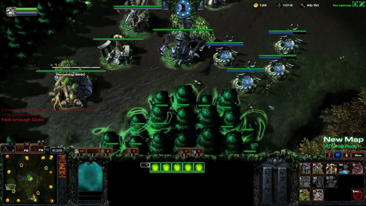 Warcraft 3 multiplayer remake - YouTube