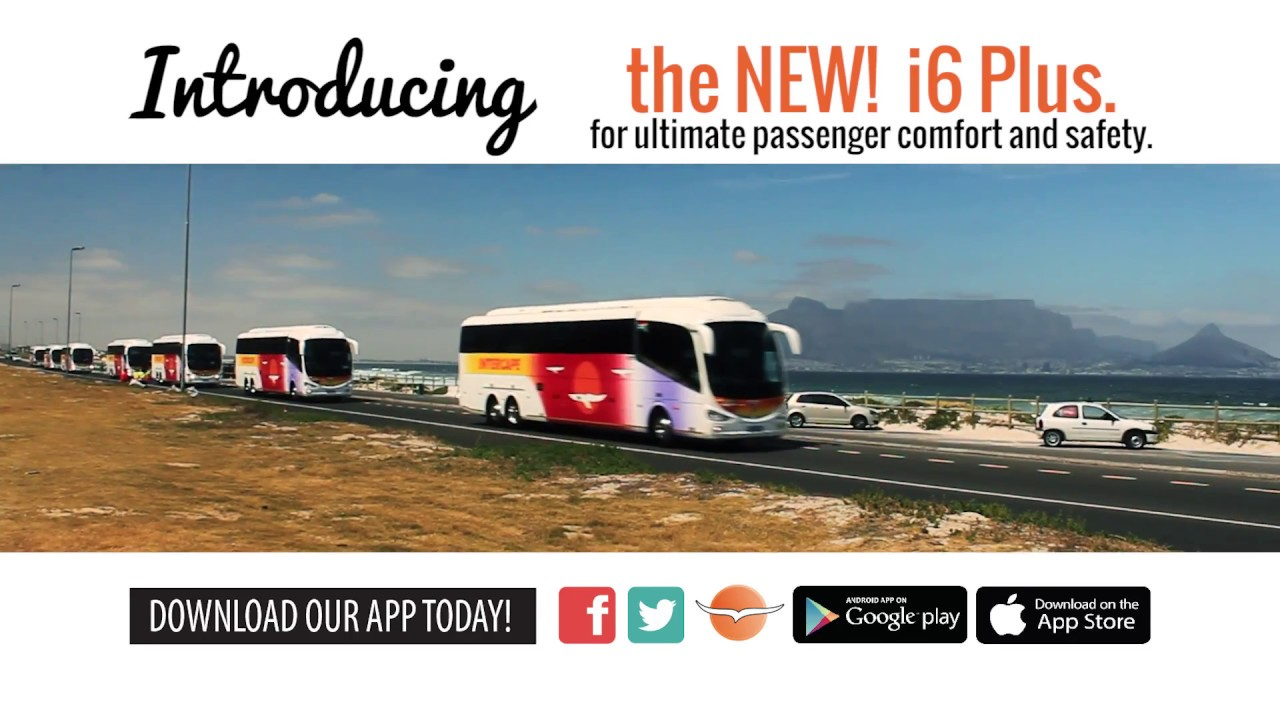Intercape Introducing The New I6 Plus Youtube
