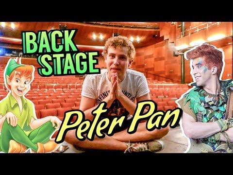 VLOG: Conhecendo o backstage do MUSICAL do Peter Pan