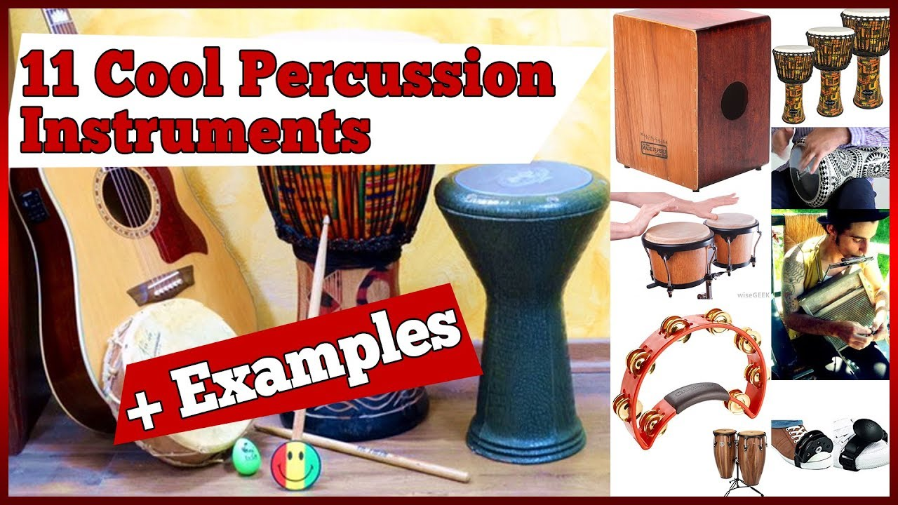 11 Cool PERCUSSION Instruments to Check Out