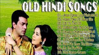 Old Hindi Songs - सदाबहार पुराने गाने   Hindi Purane Gane   Lata Mangeshkar Old Song
