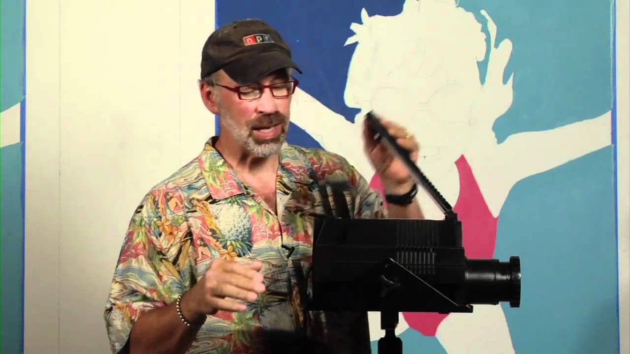 Michael cooper shows you how to use an opaque projector for murals michael cooper shows you how to use an opaque projector for murals youtube amipublicfo Images